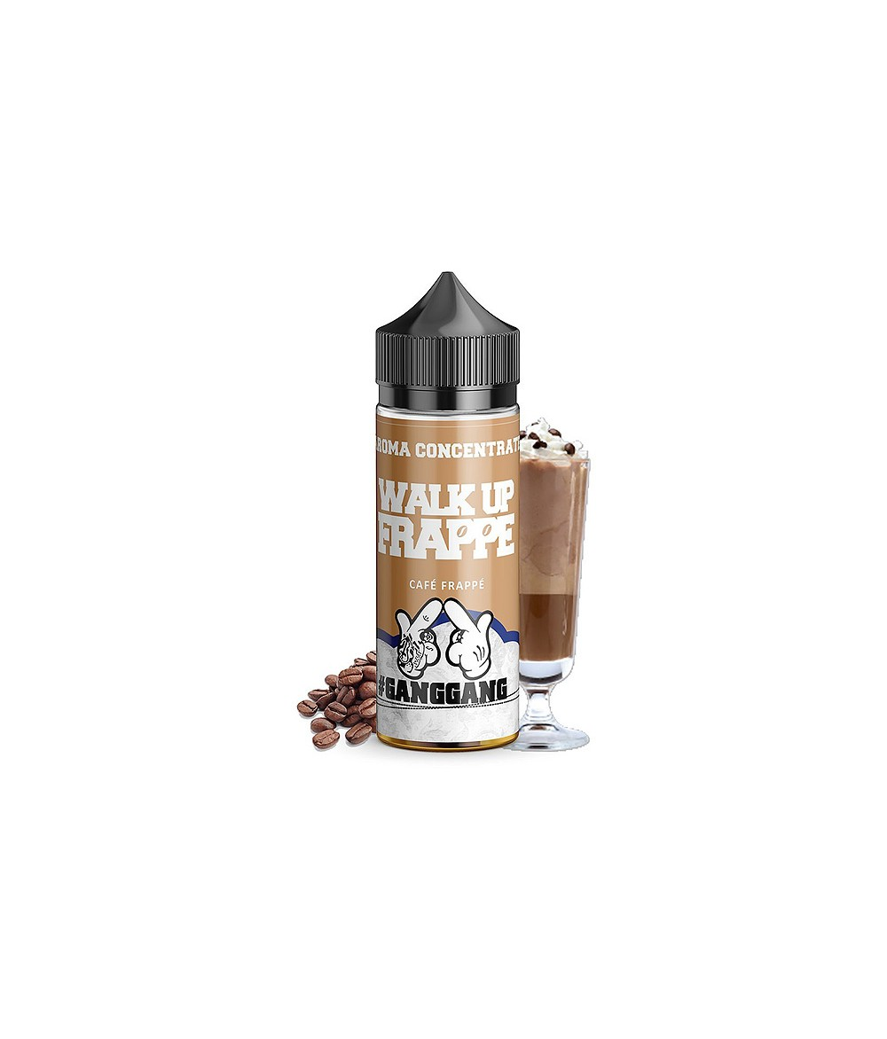 ganggang Walk up Frappe Aroma 20 ml in 60 ml Flasche Shake and Vape