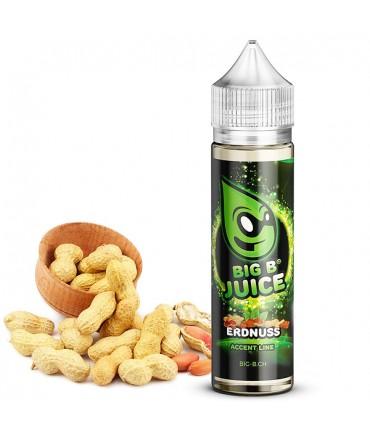Big B Juice Accent Line Peanut Liquid 50ml in 60 ml Flasche Shortfill Shake and Vape