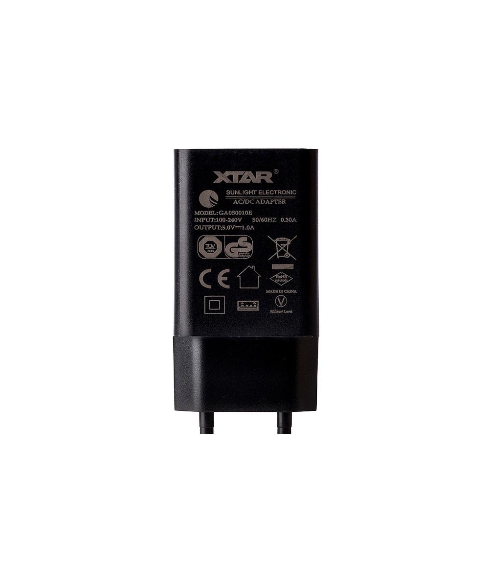 XTAR USB-Adapter 5V 1000mA Universal AC Netzteil Netzstecker