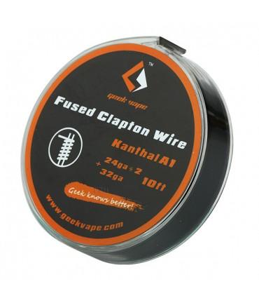 GeekVape 3 Meter Kanthal A1 Fused Clapton Wire 24GA x 2 + 32GA Wickeldraht