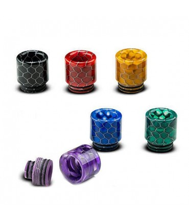 Universal 510 and 810 Drip Tip Hybrid Resin mouthpiece for honeycomb evaporators