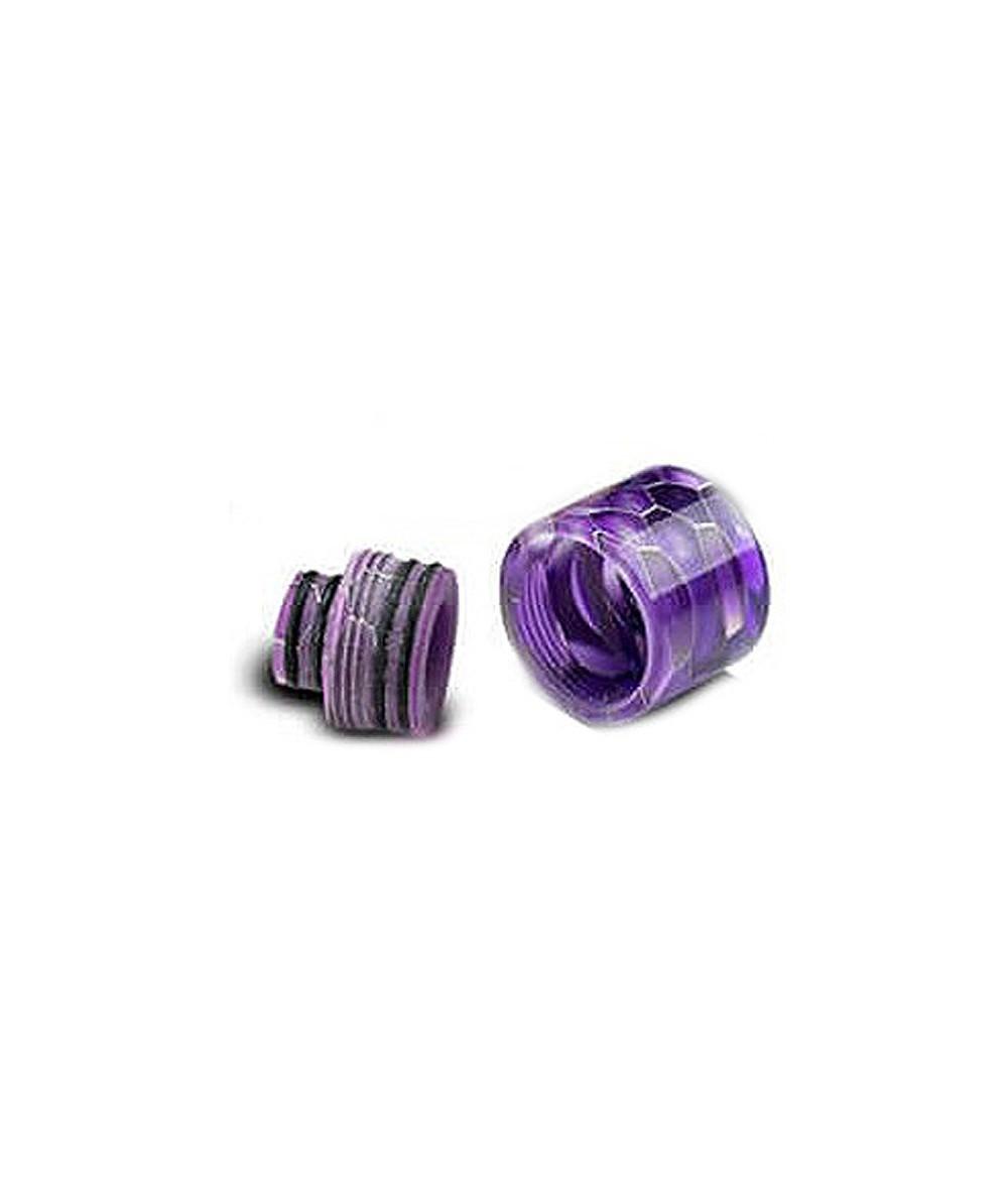 Universal 510 und 810 Drip Tip Hybrid Resin Mundstück für Verdampfer im Waben Design - Sockel
