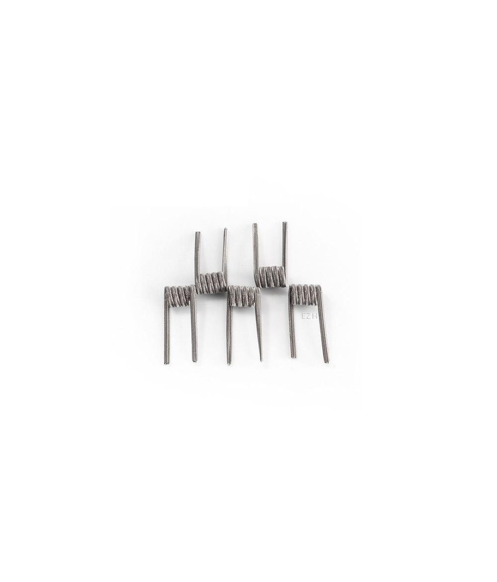CoilArt 5 Stück Alien Coil 0.3 Ohm (3x 28G/36G Ni80) Prebuild Coil
