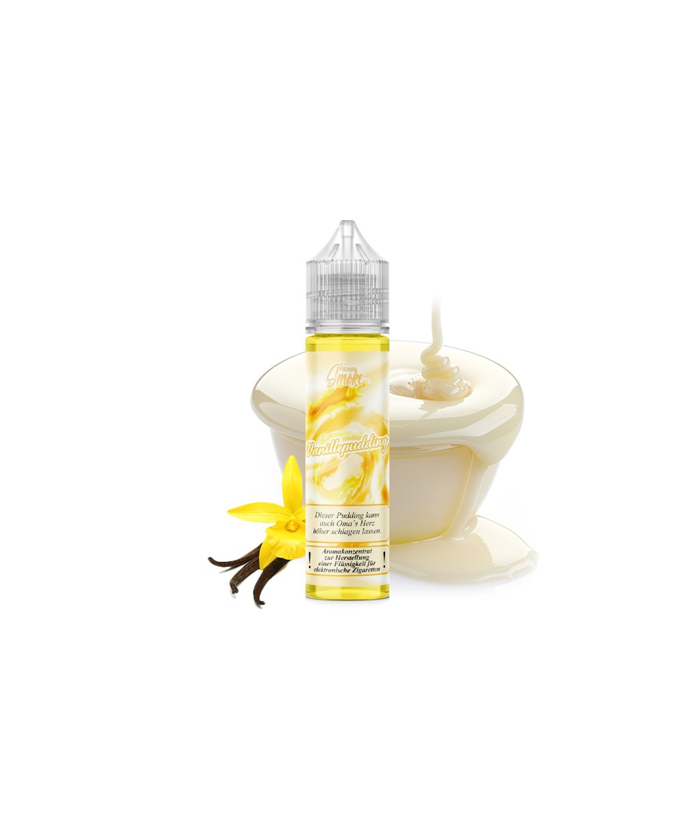 Flavour Smoke Vanillepudding Aroma 20ml in 60 ml Flasche Shake and Vape