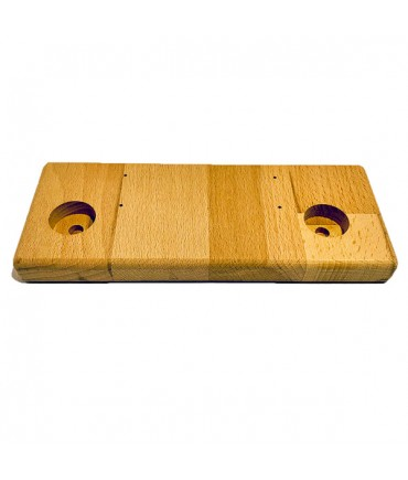 Stand stand wood small 2 holes for evaporator battery cells