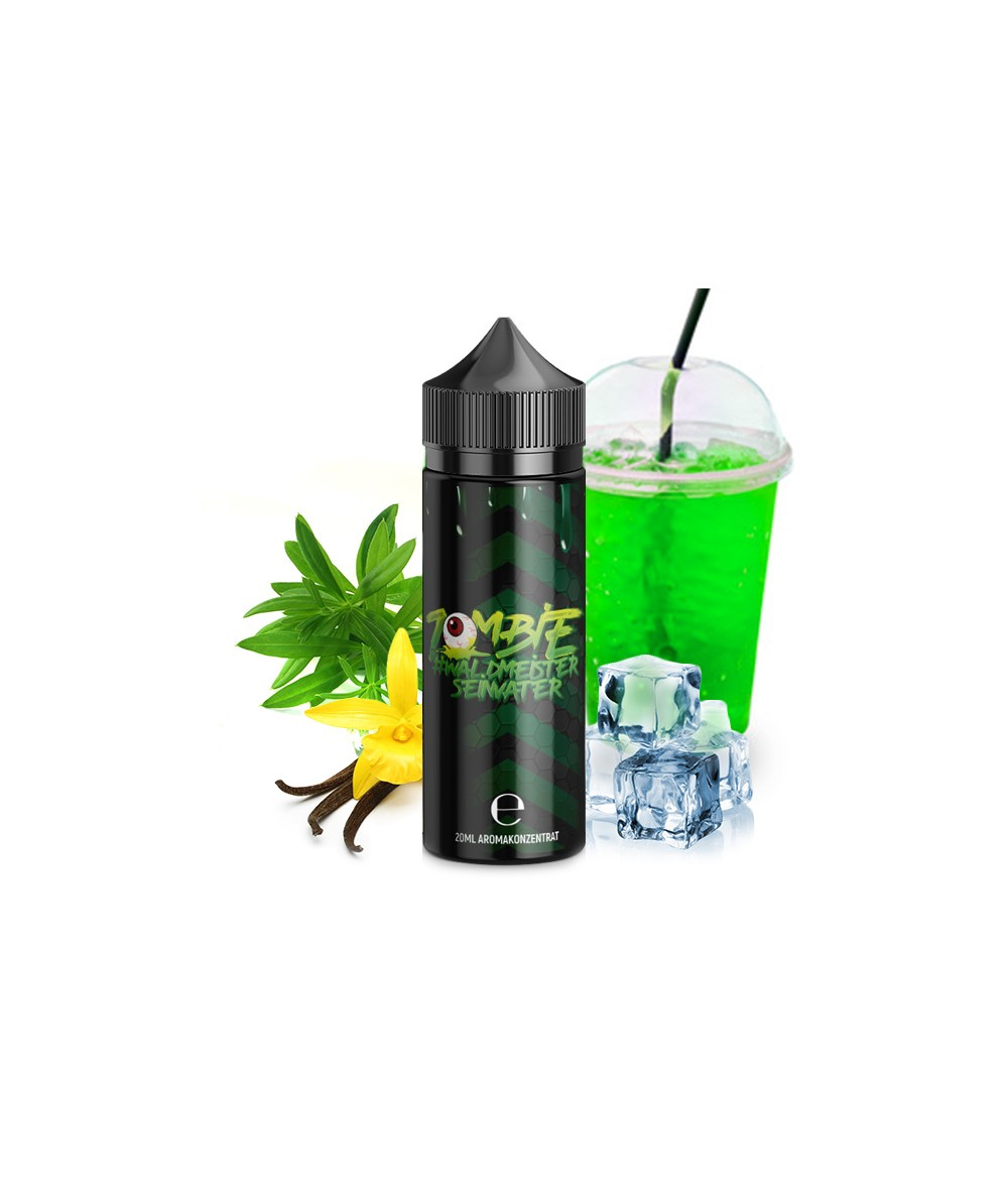 ZOMBIE JUICE Waldmeisterseinvater Aroma 20 ml in 120 ml Flasche Shake and Vape