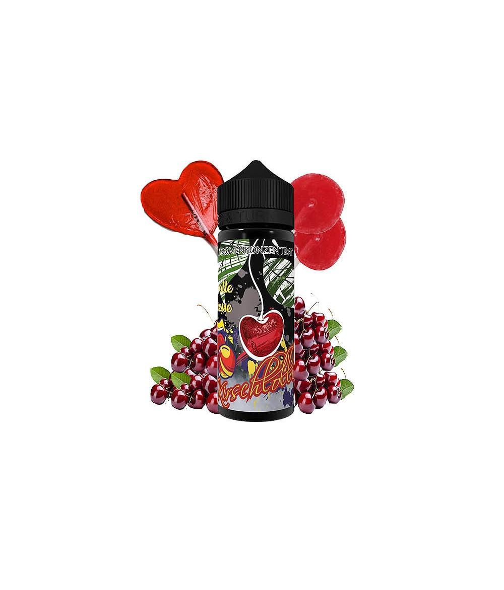 Lädla Juice Volle Fresse Kirschlollii Aroma 20 ml in 120 ml Flasche Shake and Vape