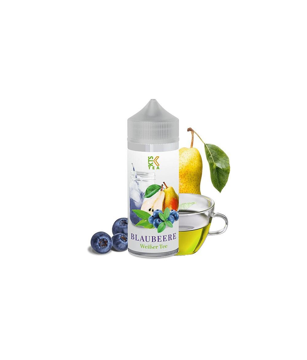 KTS Tea Serie Blaubeere Aroma 30ml in 120 ml Flasche Shake and Vape