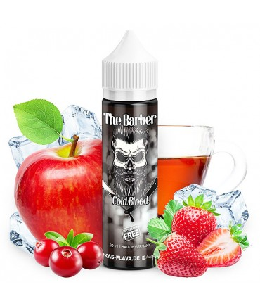 Kapka's Flava The Barber Cold Blood Aroma 15 ml in 60 ml Bottle Shake and Vape