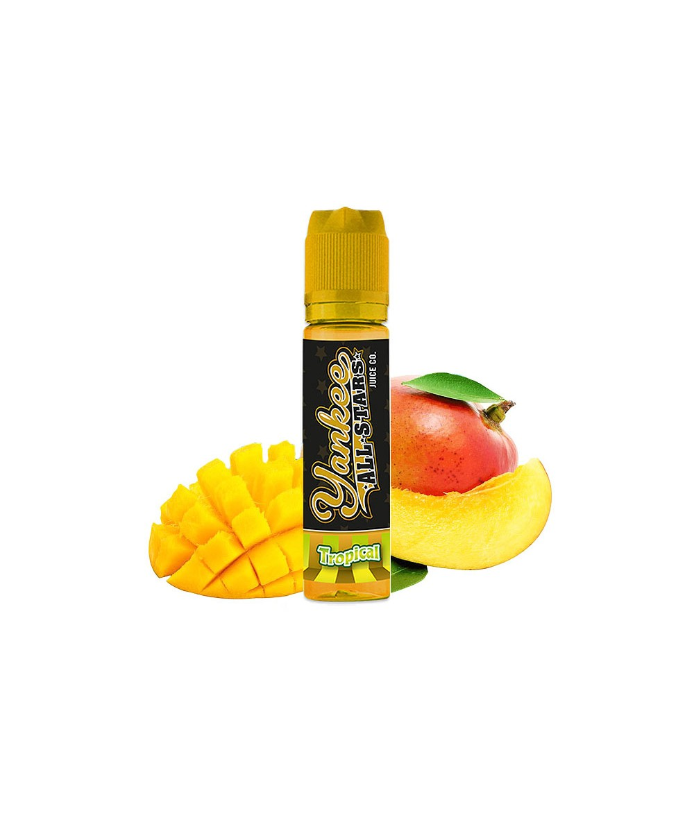 Yankee All Stars Tropical Aroma 15 ml in 60 ml Flasche Shake and Vape