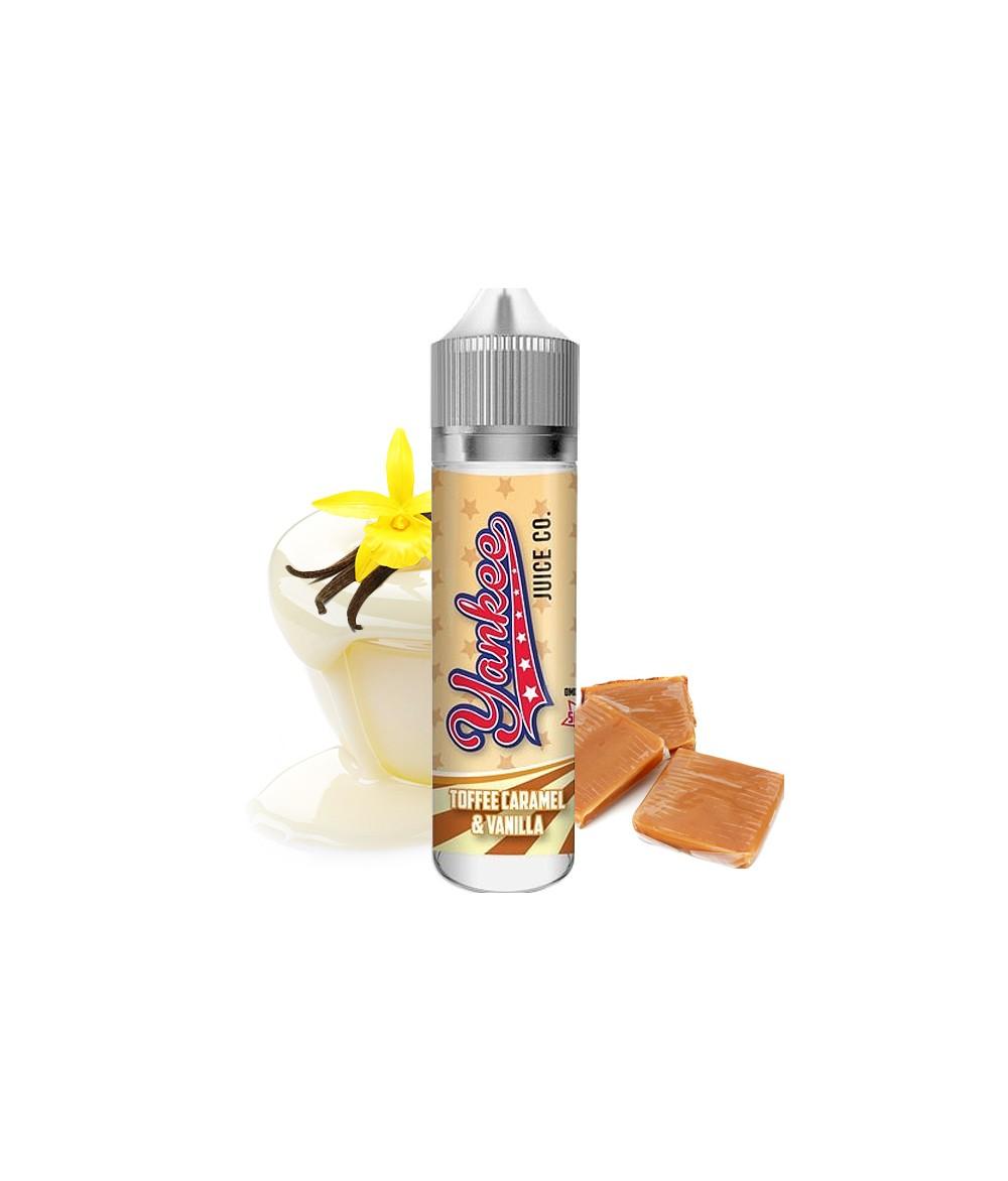 Yankee Juice Co. Toffee Caramel Premium Liquid 50 ml - Boosted Liquid Shake and Vape