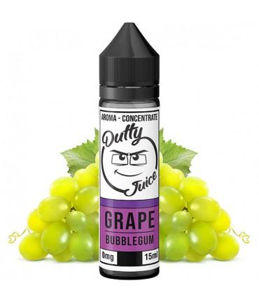 Dutty Juice Grape Bubblegum Aroma 15 ml in 60 ml Bottle Shake and Vape
