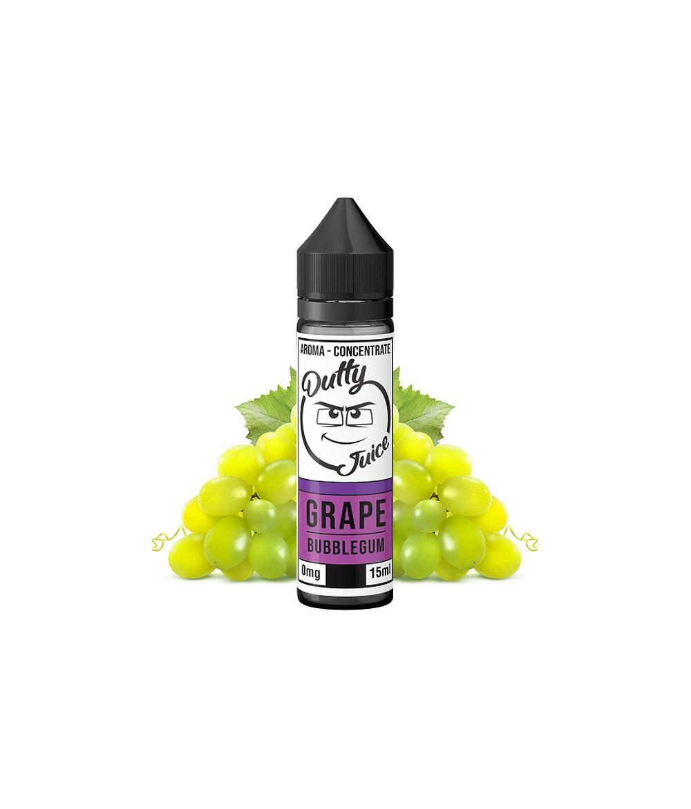 Dutty Juice Grape Bubblegum Aroma 15 ml in 60 ml Flasche Shake and Vape