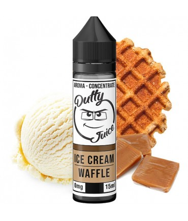 Dutty Juice Cream Waffle Aroma 15 ml in 60 ml Flasche Shake and Vape