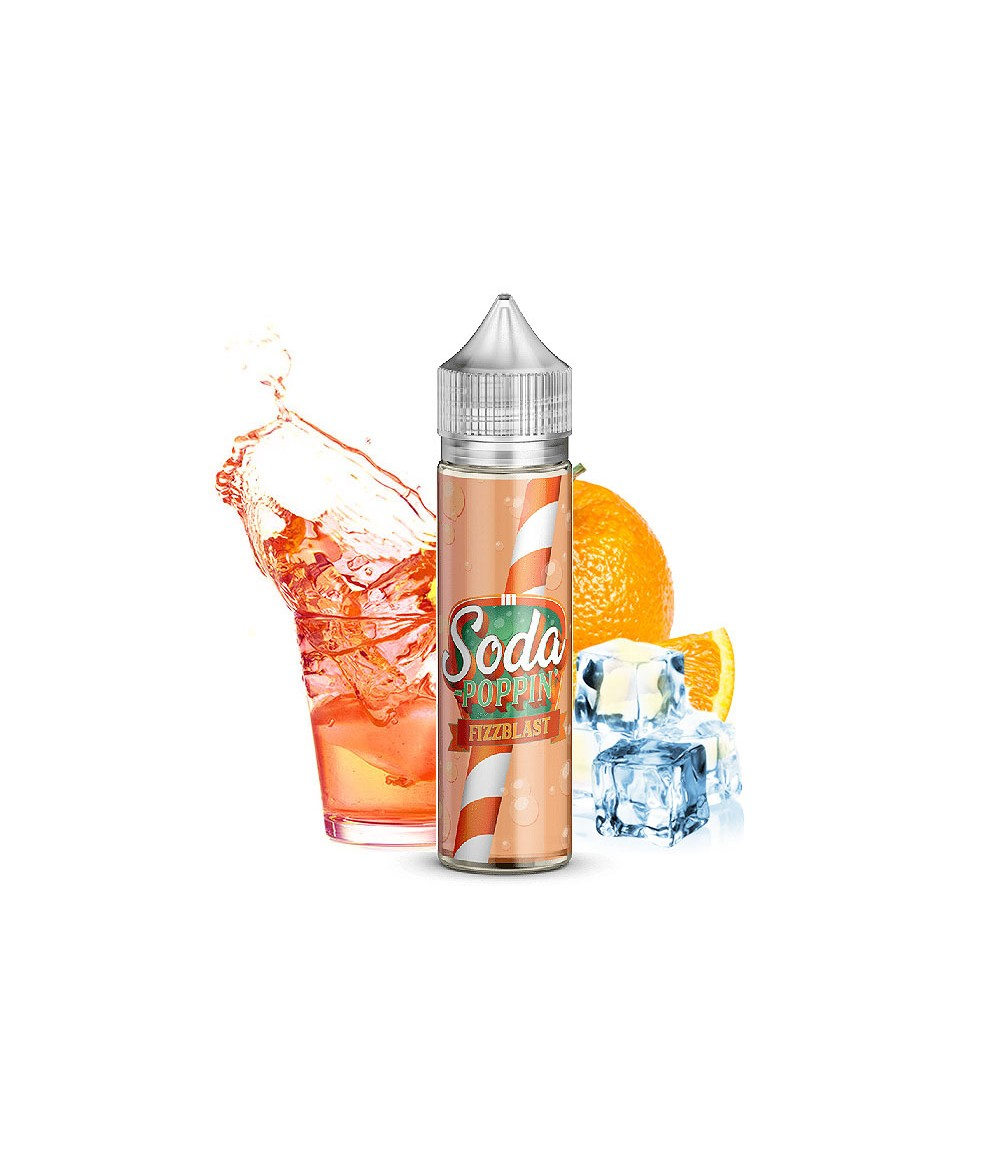Soda Poppin Fizzblast Premium Liquid 50 ml - Boosted Liquid Shake and Vape