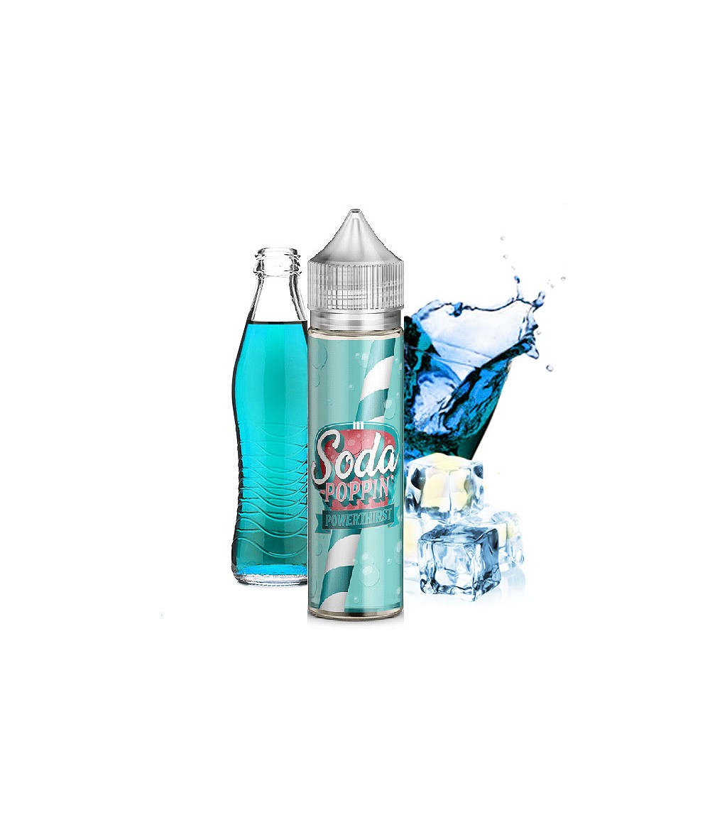 Soda Poppin Powerthirst Premium Liquid 50 ml - Boosted Liquid Shake and Vape