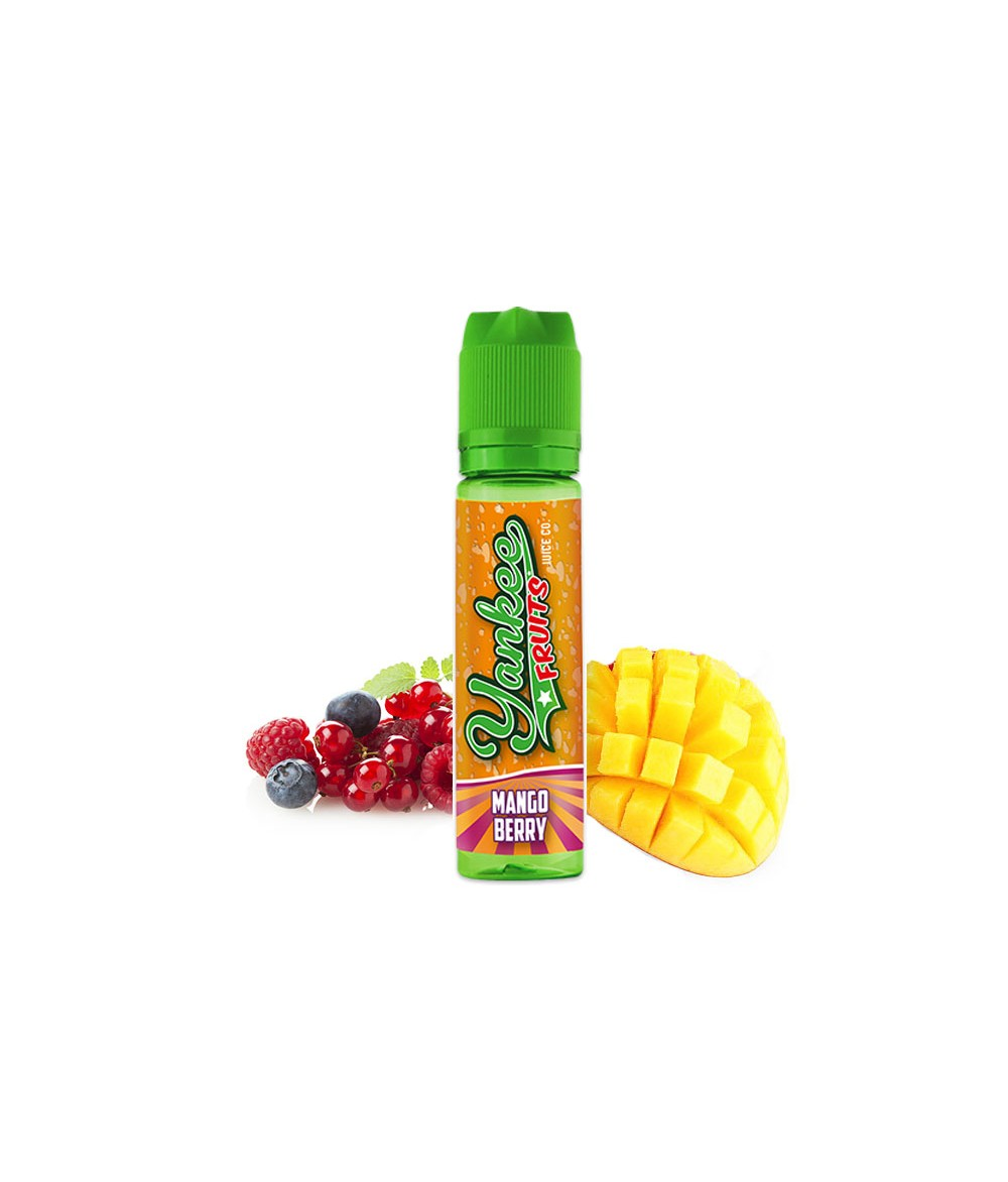 Yankee Fruits Mango Berry Aroma 15 ml in 60 ml Flasche Shake and Vape