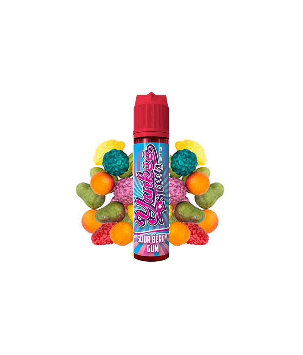 Yankee Sweets Sour Berry Gum 15 ml in 60 ml Flasche Shake and Vape
