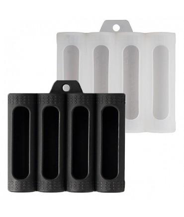 COIL MASTER 18650 Vierfach-Silikonhülle für Akkuzellen und Akkuträger