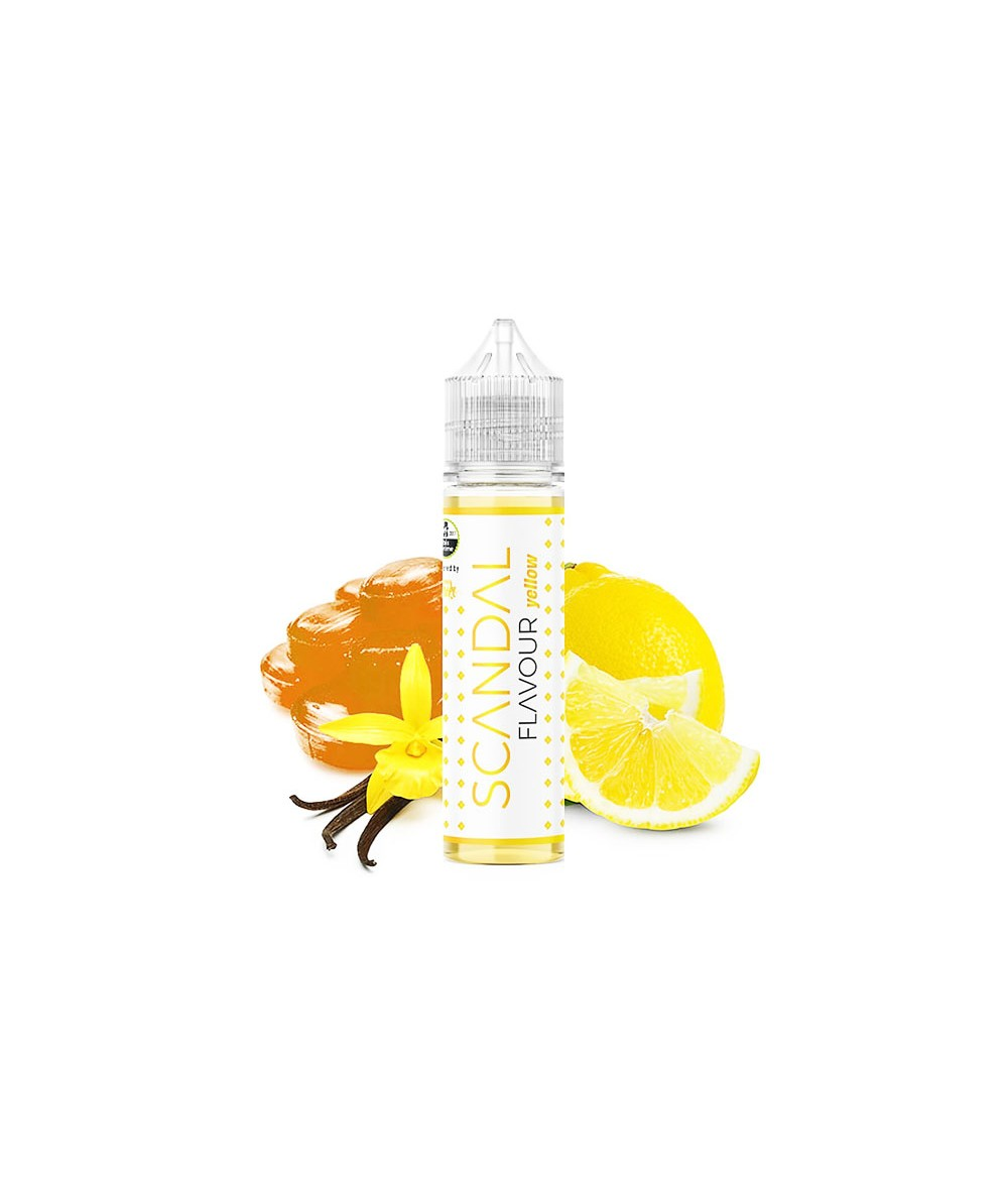 Scandal Flavour by FLAVOUR SMOKE Yellow Aroma 20 ml in 60 ml Flasche Shake and Vape