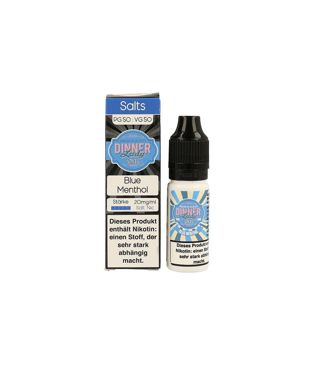 Dinner Lady Blue Menthol Nikotinsalz Premium Liquid 10 ml - NicSalt 20 mg/ml