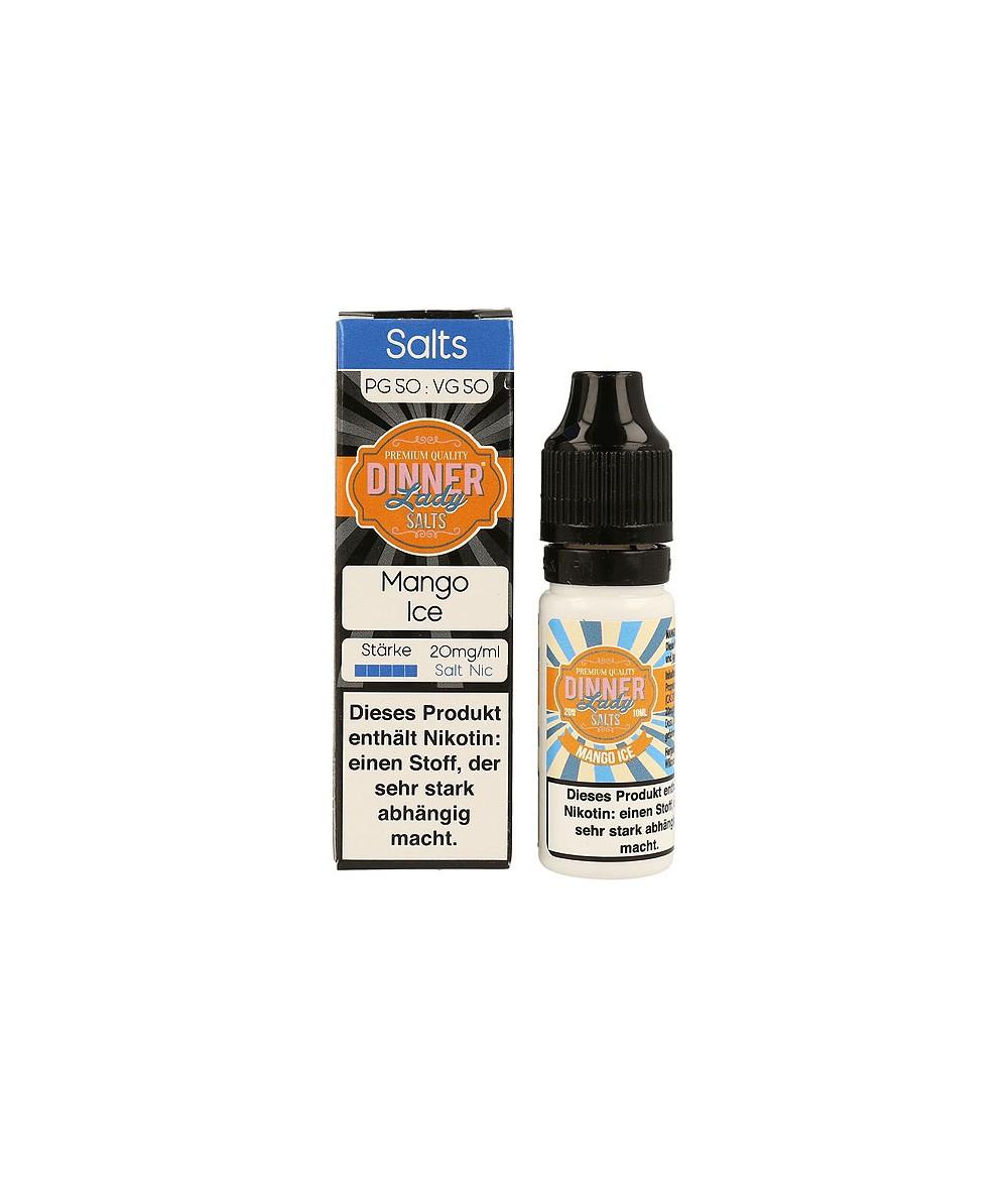 Dinner Lady Mango Ice Nikotinsalz Premium Liquid 10 ml - NicSalt 20 mg/ml