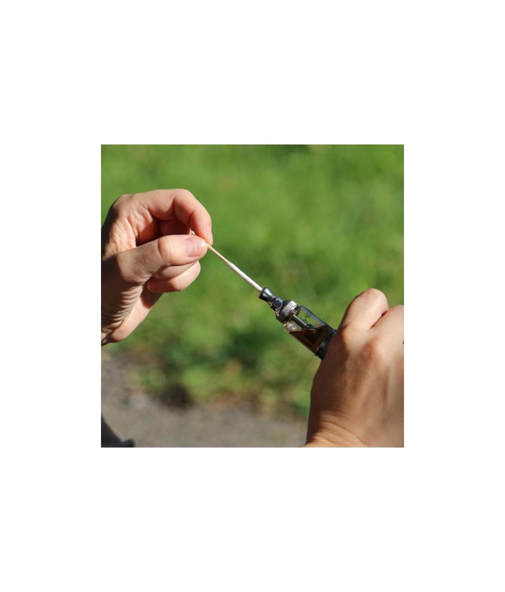 HEBB Cleaning Reinigungsstäbchen für Verdampfer - Anwendung