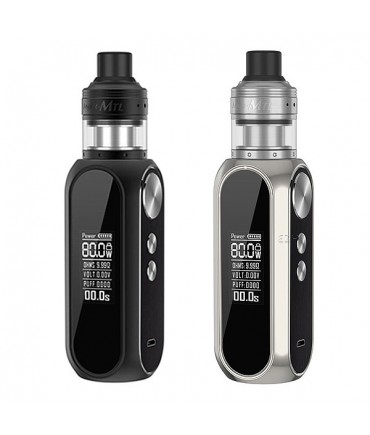 OBS Cube 80W Mod Battery Carrier with Engine MTL RTA Self-Winder Evaporator in Kit