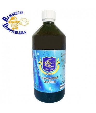 Lädla Juice Base - 70 VG/30 PG - 1000 ml mit 0 mg zum mischen