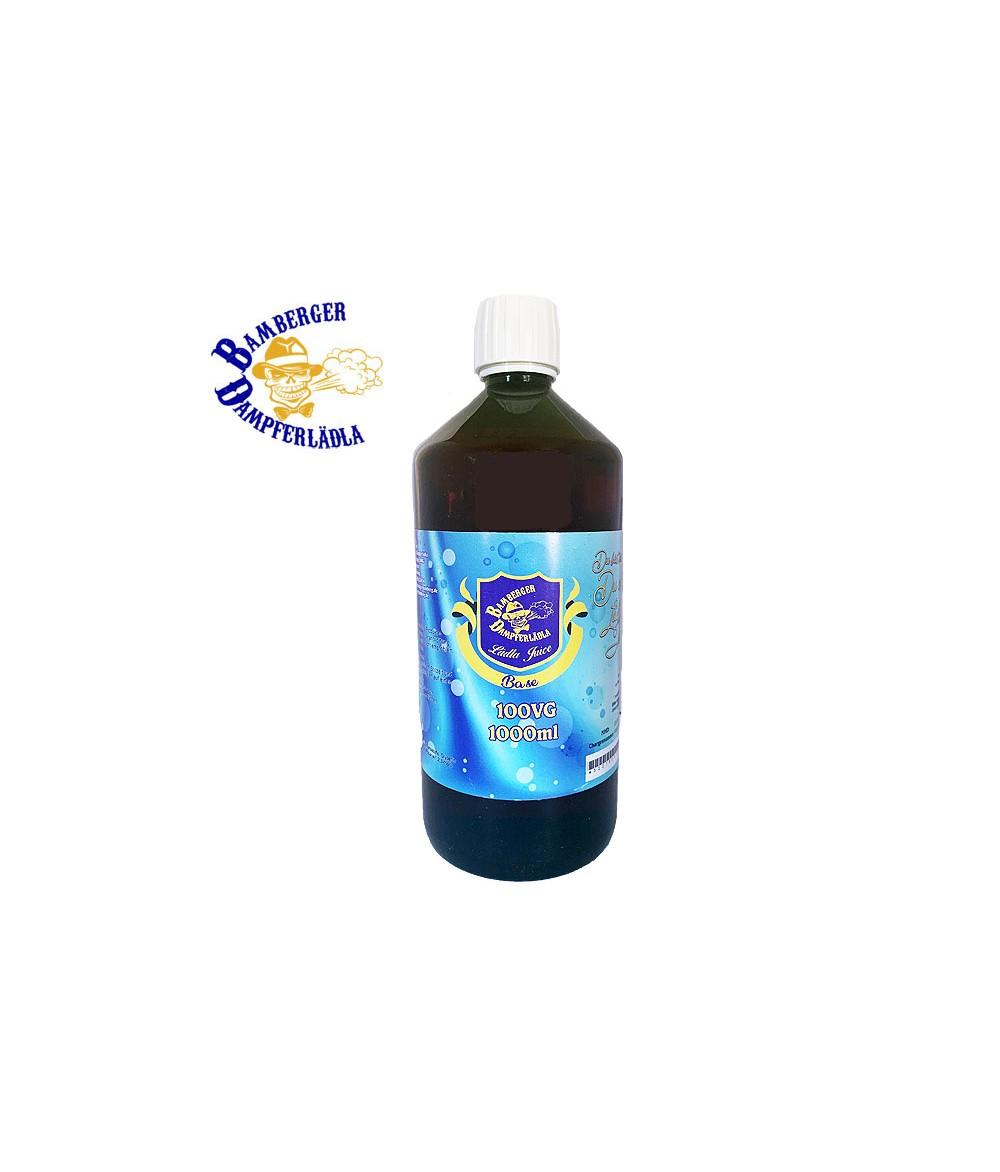 Lädla Juice Base - 100 VG - 1000 ml mit 0 mg zum mischen