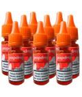 Popdrop Nikotinshot 50PG/50VG mit 18mg Nikotin - 9er Pack