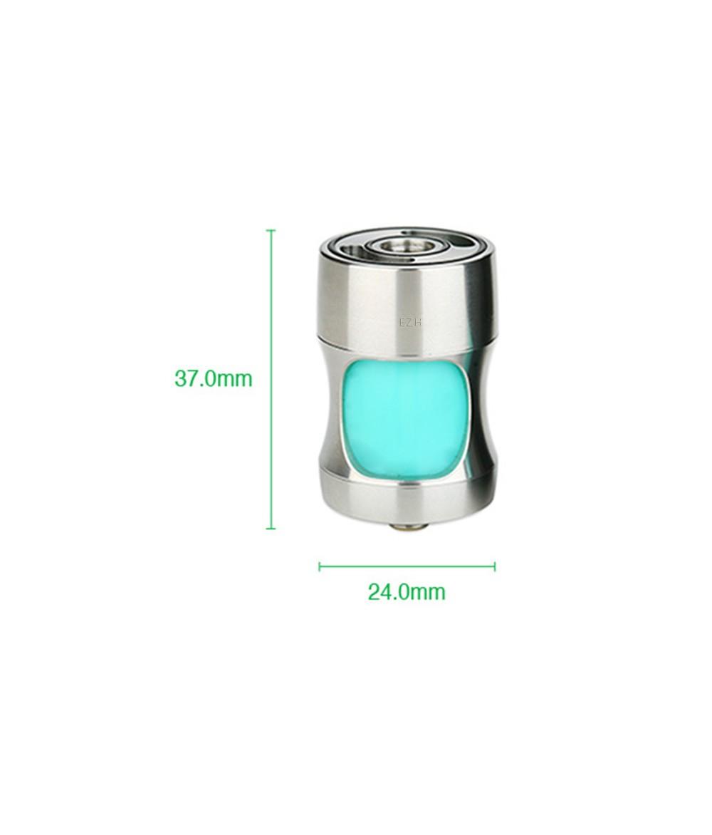 Cthulhu Squonk Genius Adapter 7.1 ml für Akkuträger - Abmessung