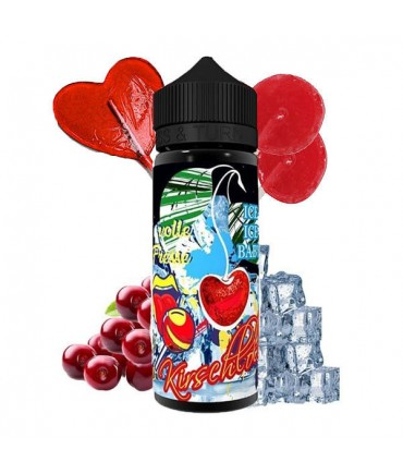 Lädla Juice Full Meal Cherry Lolliii Ice Aroma 20 ml in 120 ml Bottle Shake and Vape