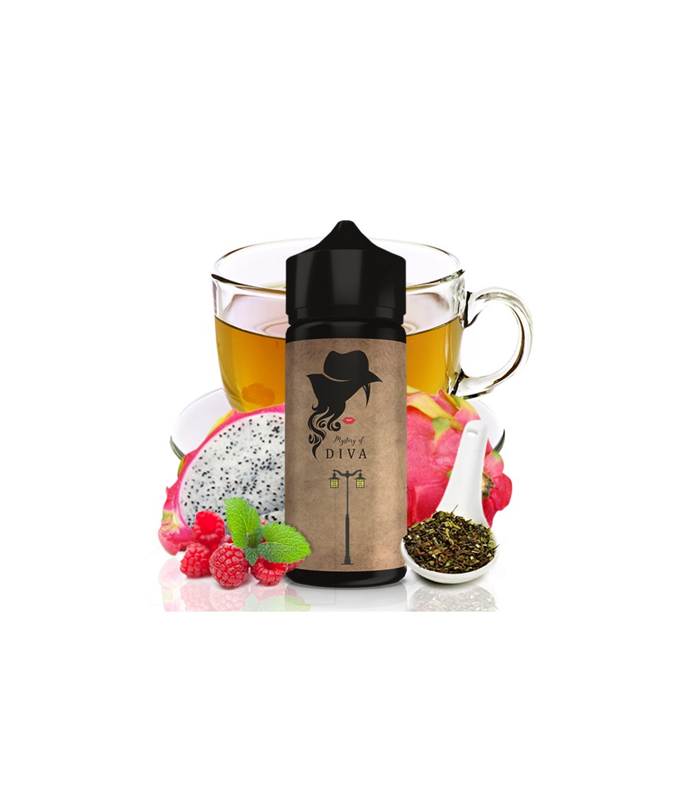 Nirvana Mystery of Diva Aroma 30 ml in 120 ml Flasche Shake and Vape