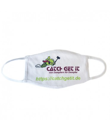 Catch Get It face mask protective mask fabric mask white