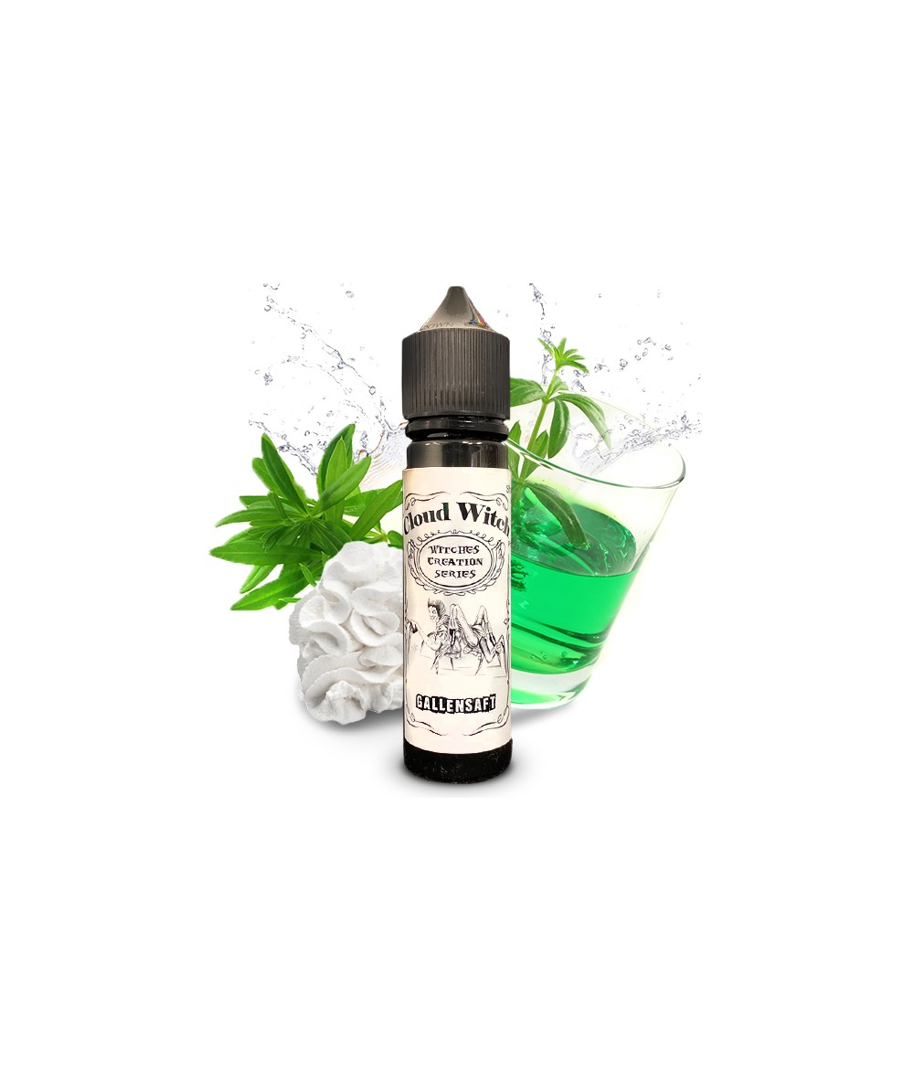 Cloud Witch Gallensaft Aroma 20 ml in 60 ml Flasche Shake and Vape