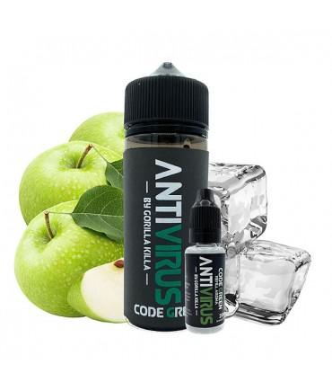 ANTIVIRUS by Gorilla Killa Code Green Aroma 20 ml in 120 ml Bottle Shake and Vape