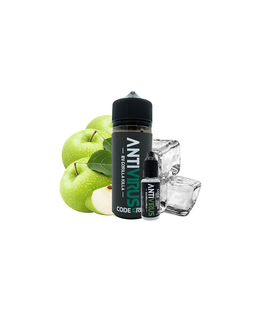 ANTIVIRUS by Gorilla Killa Code Green Aroma 20 ml in 120 ml Flasche Shake and Vape