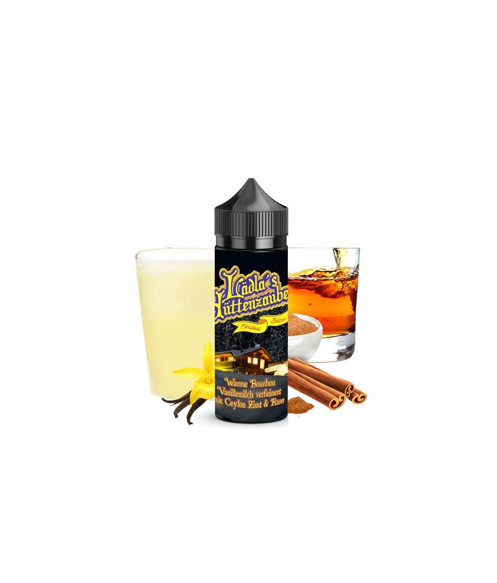 Lädla Juice Lädla's Hüttenzauber Box mit 2 Aromen zur Wahl je 20 ml in 120 ml Flasche Shake and Vape - Vanille Milch Zimt Rum