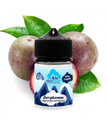 Alpendampf Bergkamm Aroma 10 ml in 60 ml Bottle Shake and Vape