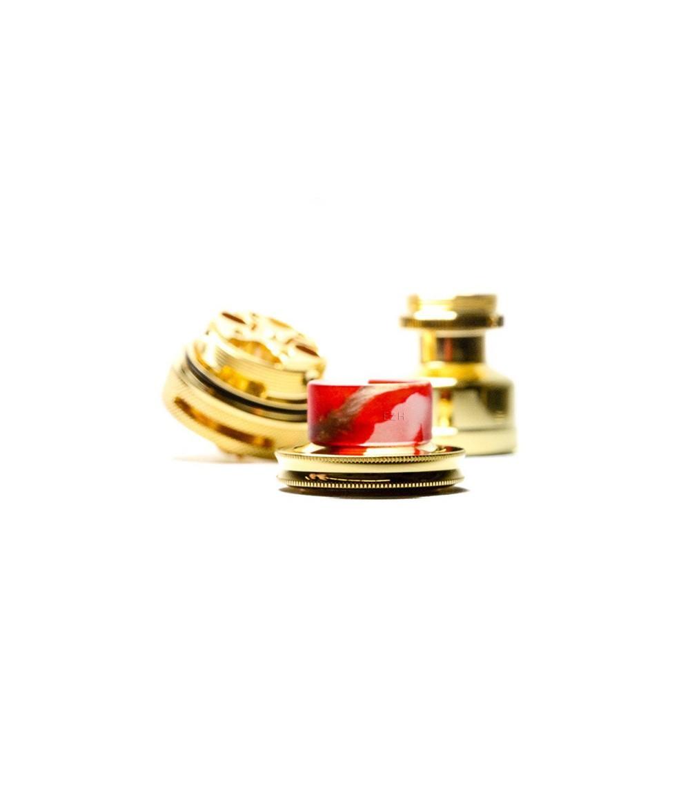 DotMod Nolli Designs Drip Tip 810 für Verdampfer - auf cap