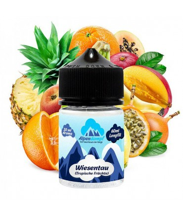 (From 27.11.2020) Alpendampf Wiesentau Aroma 10 ml in 60 ml Bottle Shake and Vape