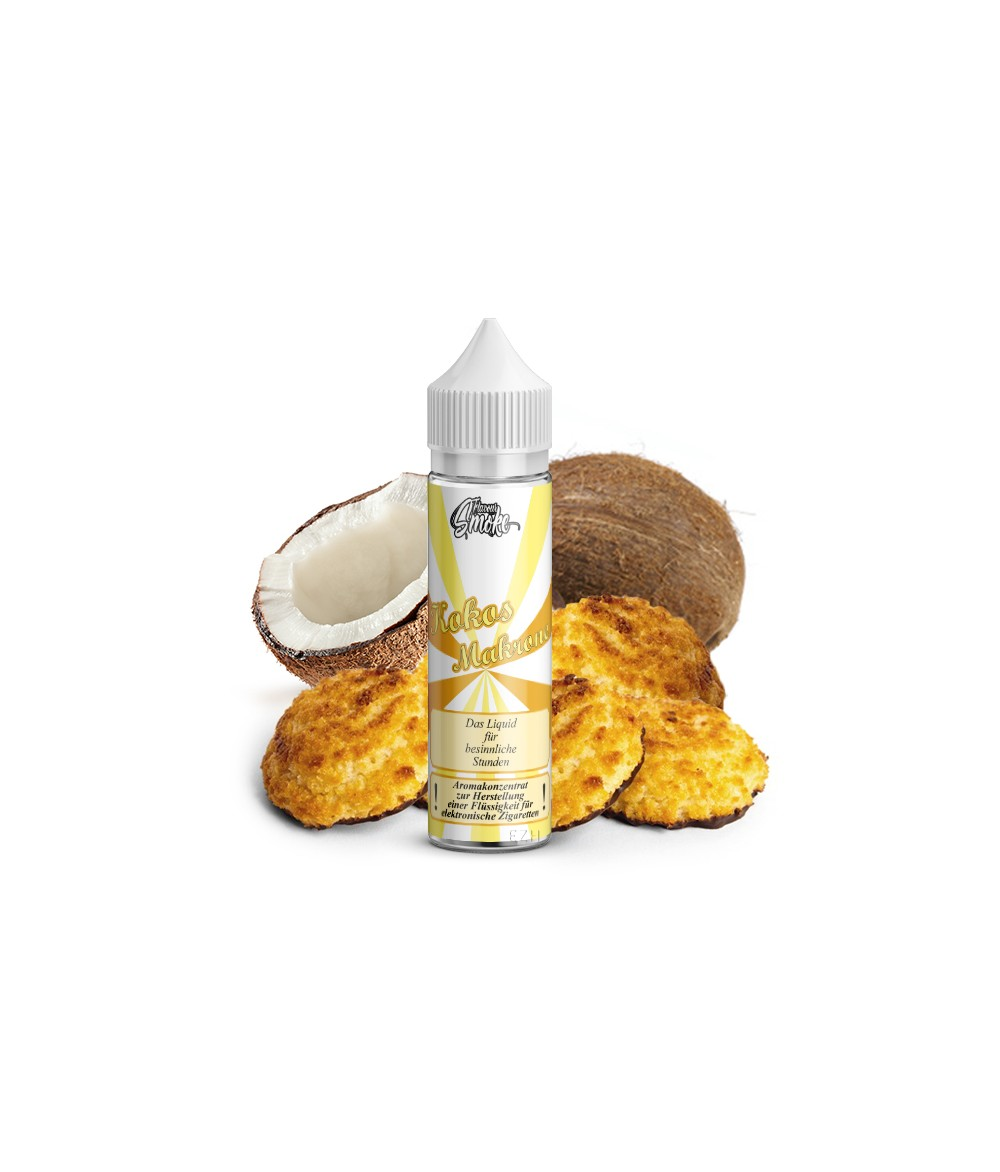 Flavour Smoke Coconut Macaroon Aroma 20ml in 60ml Bottle Shake and Vape