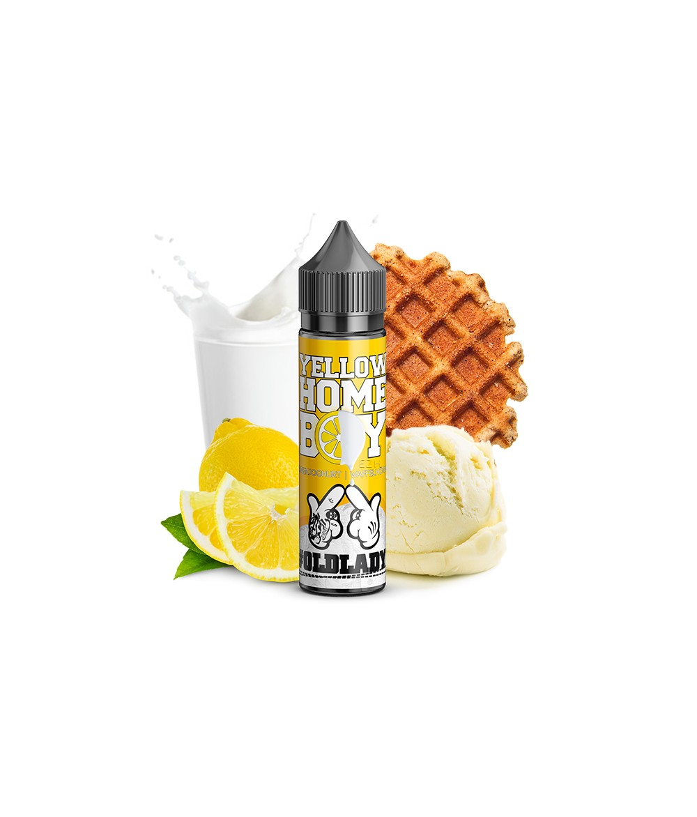 ganggang - oldlady - Yellow Home Boy Aroma 20 ml in 60 ml Flasche Shake and Vape