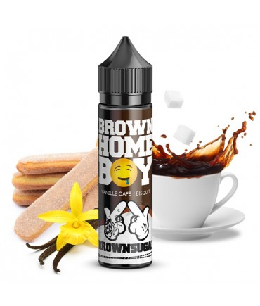 ganggang - Brownsugar - Brown Home Boy Aroma 20 ml in 60 ml Bottel Shake and Vape