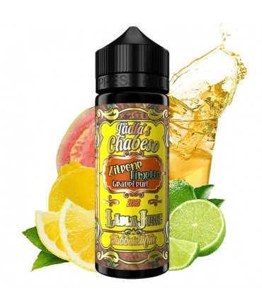 Lädla Juice Blubber Säftla Lädla's Chabeso Lemon Lime Grapefruit Aroma 20 ml in 120 ml Bottle Shake and Vape