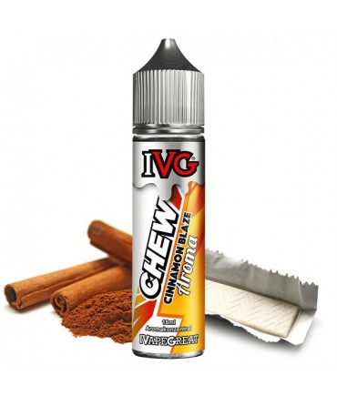 IVG Liquid Cinnamon Blaze Aroma 18 ml in 60 ml bottle Shake and Vape
