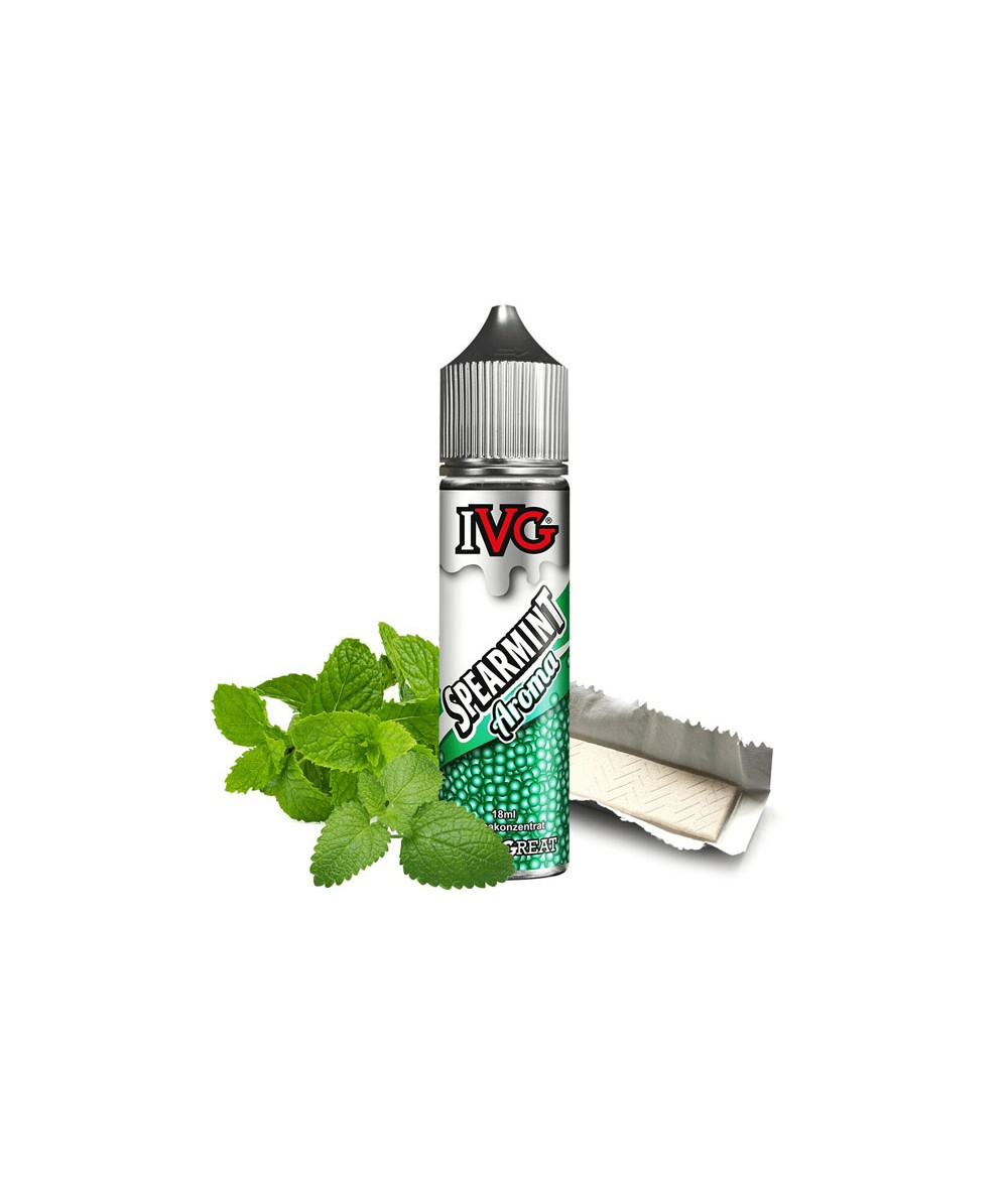 IVG Liquid Spearmint Aroma 18 ml in 60 ml bottle Shake and Vape