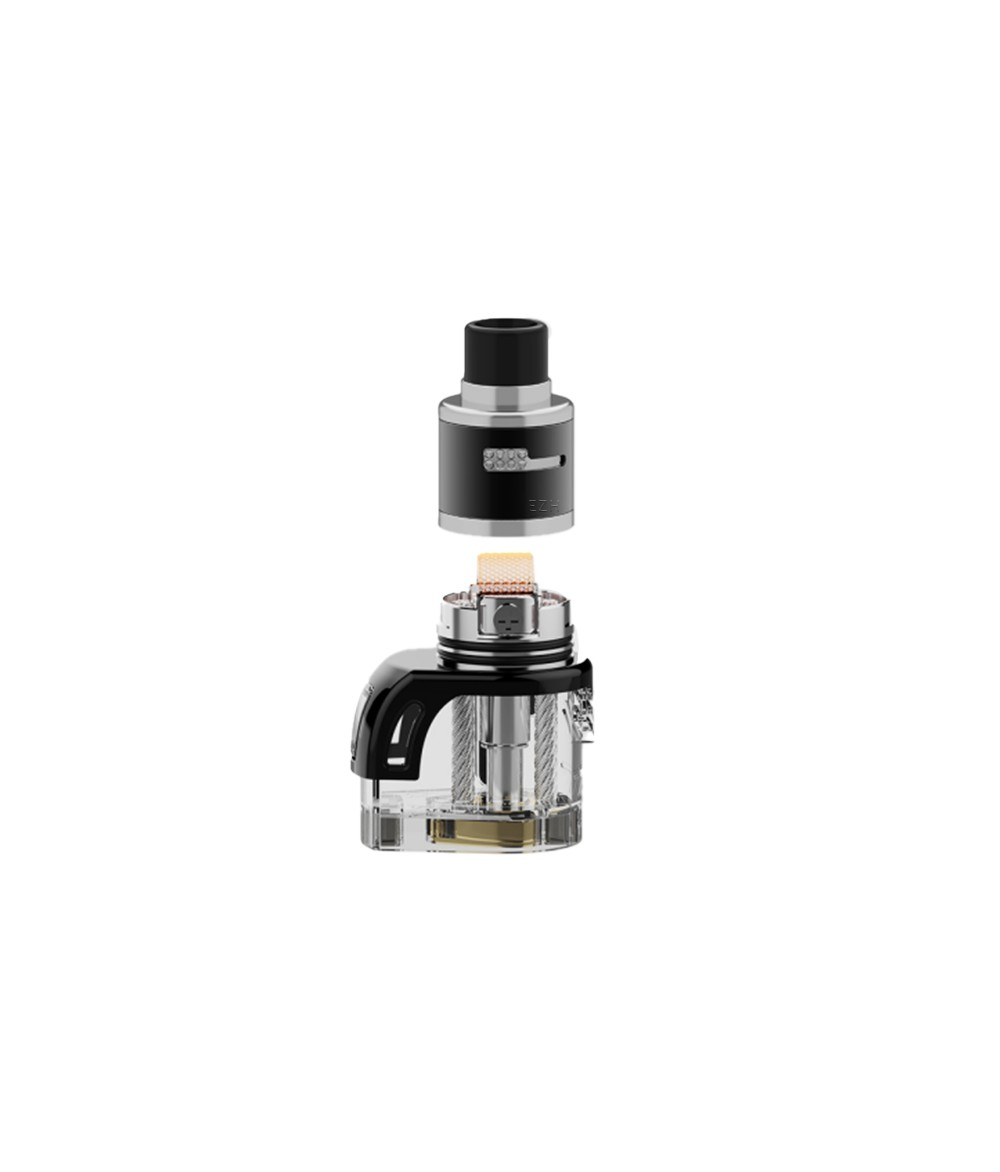Vapefly Jester X Pod System battery carrier with RDTA All in One