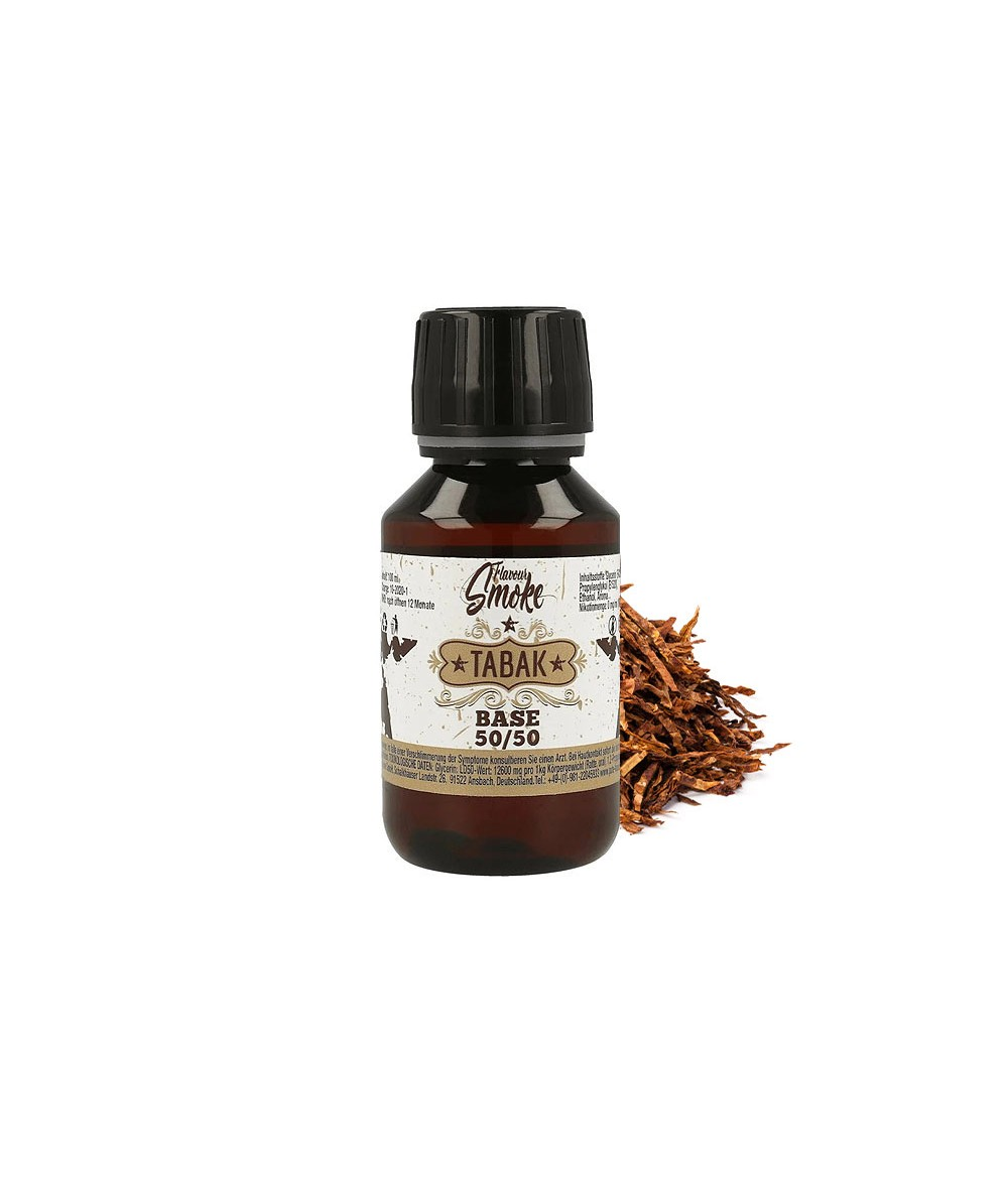 Flavour Smoke Tabakbase - 50 VG/50 PG - 100 ml with 0 mg to mix